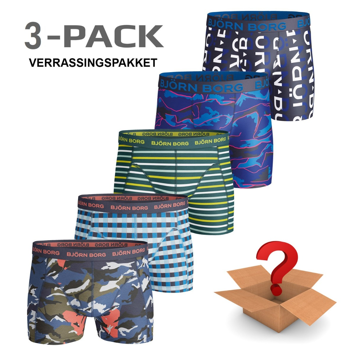 Image of 3-Pack Boxers