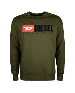 Diesel S Crew Division Sweater Army