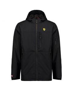 Ferrari Rain Jacket - Zwart