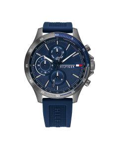 Tommy Hilfiger 1791721 Zwart/Blauw 46mm