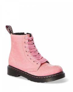 Dr. Martens 1460 J Velvet Pale Pink Velvet