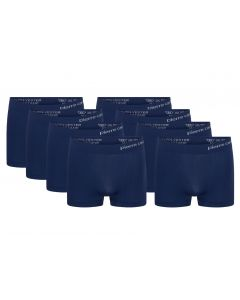 Pierre Cardin 8-Pack Seamless Boxers Navy Solid