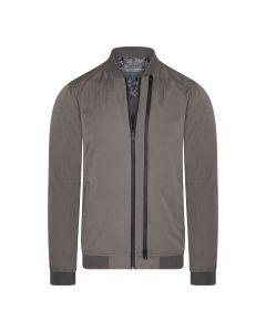 Cast Iron Double Zipped Jacket Grijs