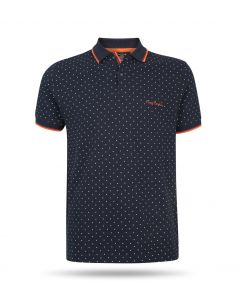Pierre Cardin - Dotted Polo Navy