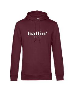 Ballin Est. 2013 Basic Hoodie - Burgundy