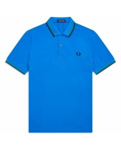 Fred Perry Twin Tipped Polo Modern Blue