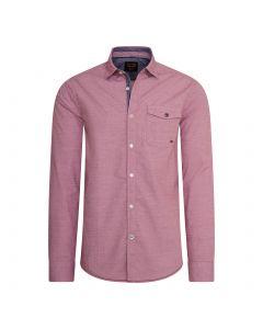 PME Legend Pomegranate Roze Overhemd