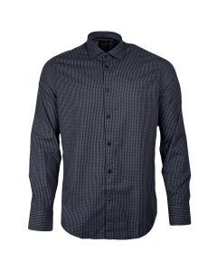 PME Legend Kent Collar Slim Fit Overhemd Navy