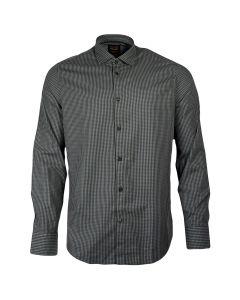 PME Legend Kent Collar Slim Fit Overhemd Grijs