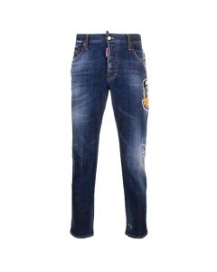 Dsquared2 Icon Skater Jeans Wit