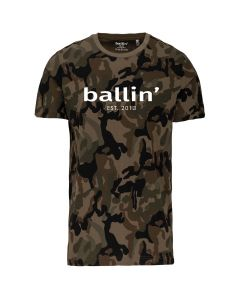 Ballin Est. 2013 Army Camouflage Shirt