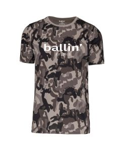 Ballin Est. 2013 Grijs Camouflage Shirt
