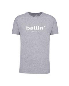 Ballin Est. 2013 Regular Fit Shirt - Grijs Melee