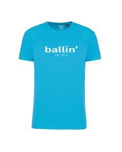 Ballin Est. 2013 Regular Fit Shirt - Turquoise
