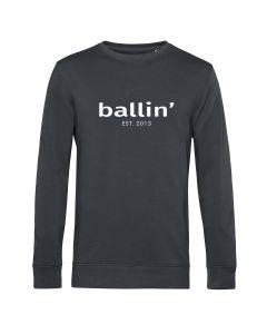 Ballin Est. 2013 Basic Sweater - Antraciet