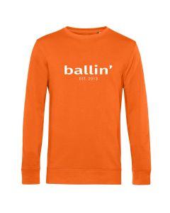 Ballin Est. 2013 Basic Sweater - Oranje