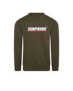 Subprime Sweater Stripe Army