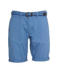 Vanguard Short Stretch Twill Peyote Blauw