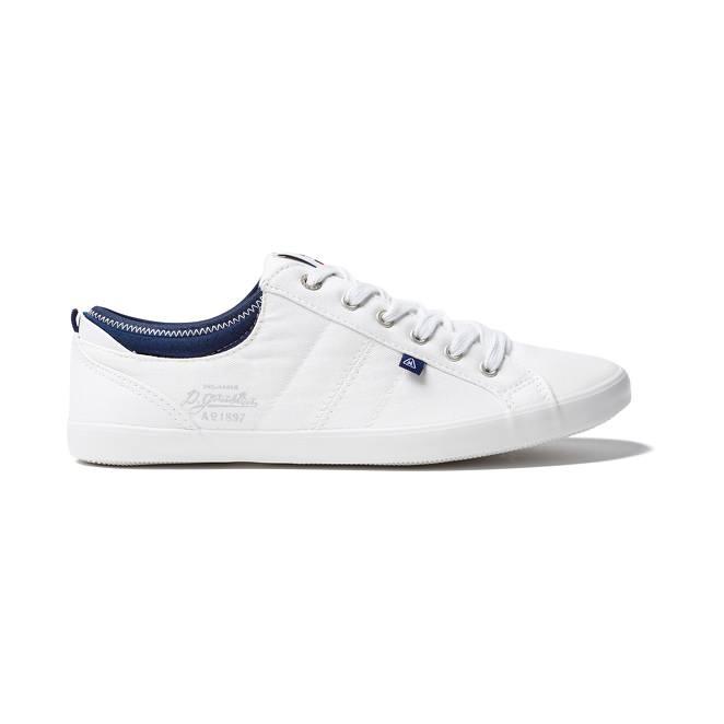 Gaastra trip sneakers voor dames. de sneakers zijn gemaakt van canvas en hebben een rubberen zool.