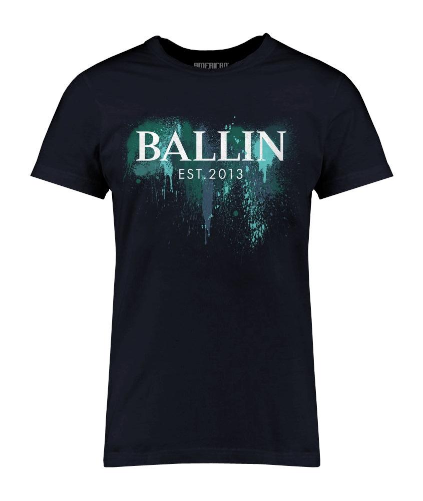 Image of Blue Paint Shirt