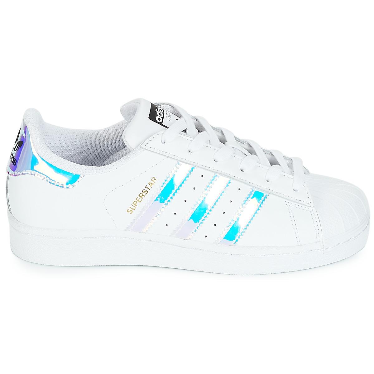 adidas Superstar Holographic Wit voor Dames | schoenen in