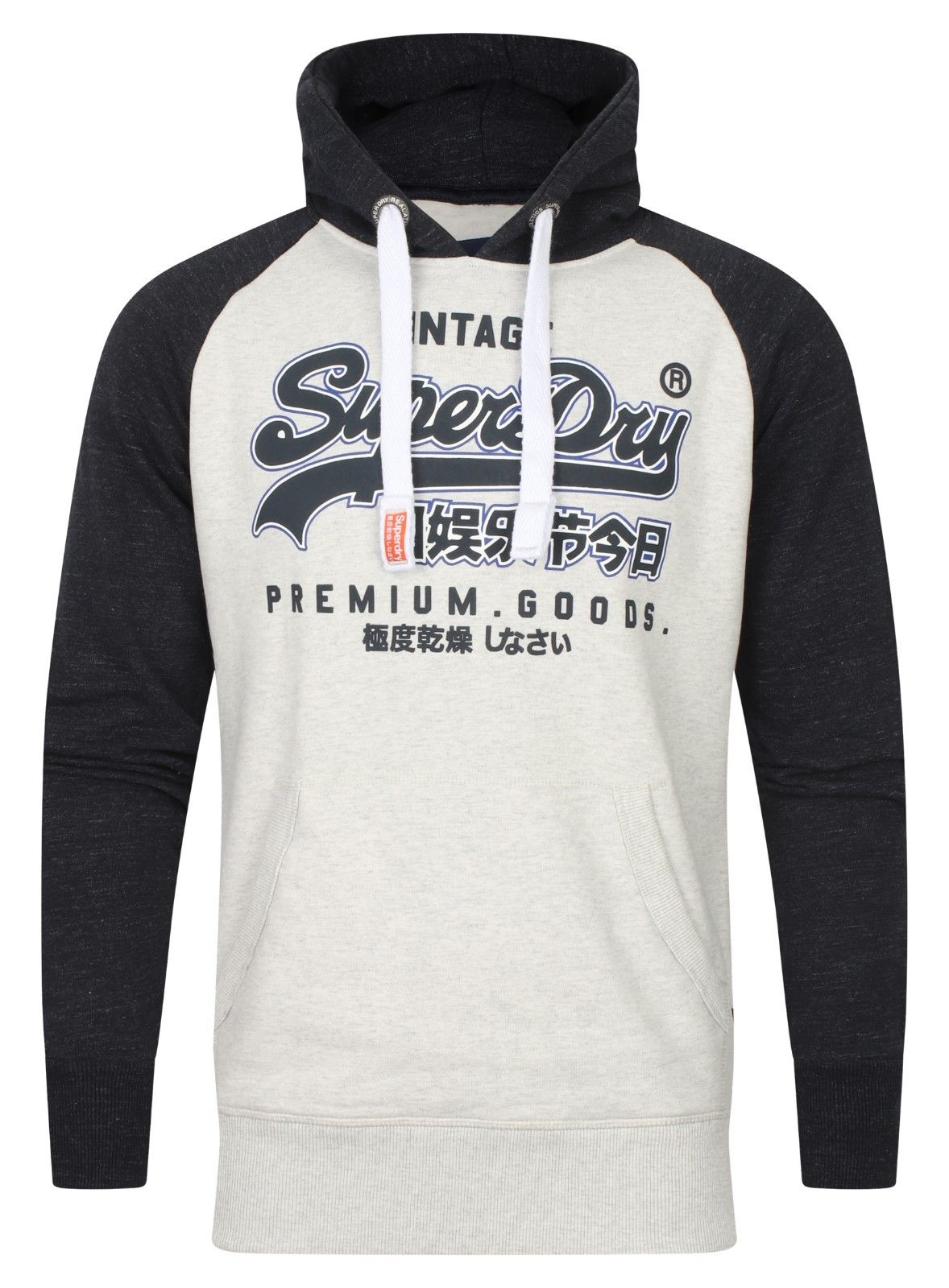 Van Fashion For Less Premium Goods Raglan Stadium Silver/Bass Blue Prijsvergelijk nu!