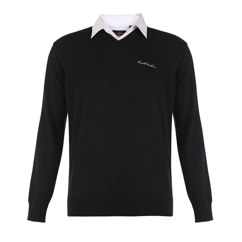 Van Fashion For Less Pullover met Overhemdkraag Prijsvergelijk nu!